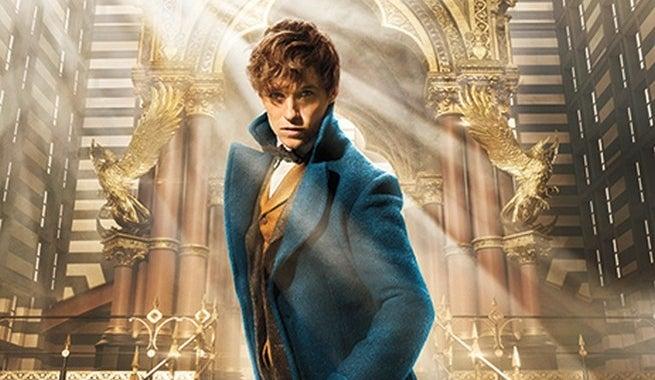 Fantastic Beasts - Eddie Redmayne - New Scamander