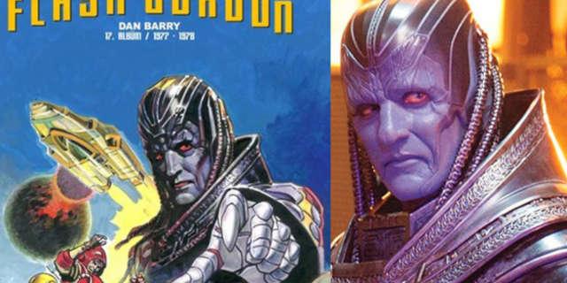 Flash Gordon Foreign Reprinter Rips-Off X-Men: Apocalypse