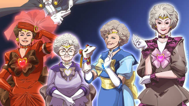 Golden Girls Sailor Moon