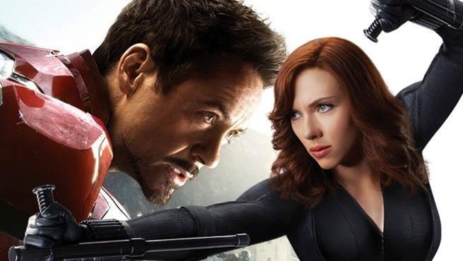 Iron Man Widow