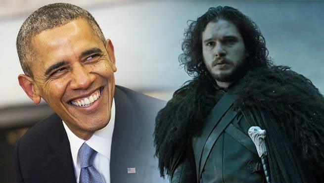 Jon Snow Obama