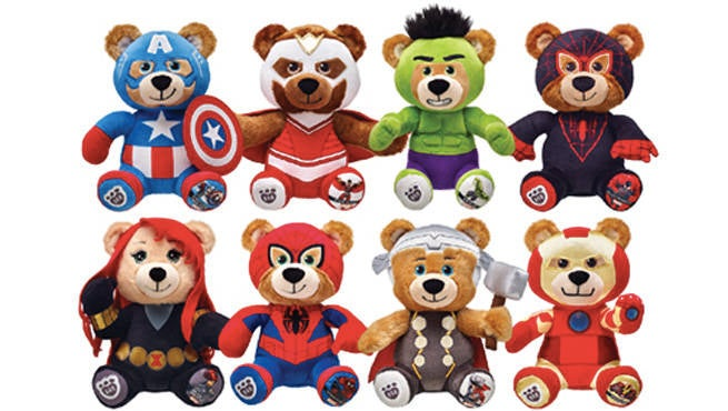 Marvel Buildabear Header