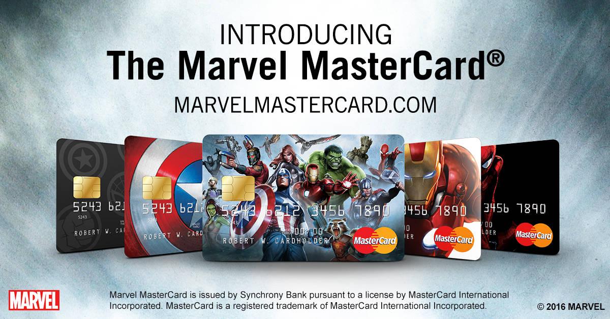 Marvel MasterCard Press