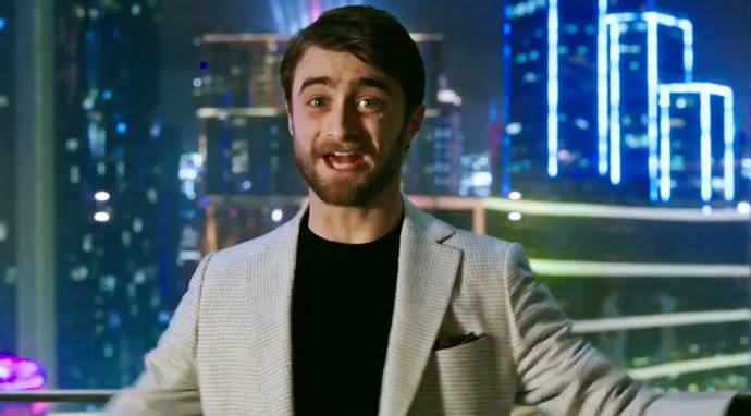 Daniel Radcliffe Plays The Anti-Magician In Now You See Me 2