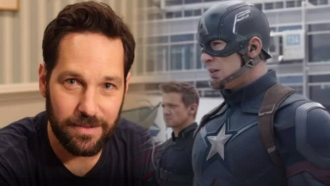 Paul Rudd Doesn't Take It Well When Fans Pick Iron Man Over Captain America