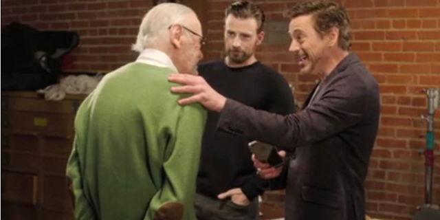 Stan Lee Civil War FB