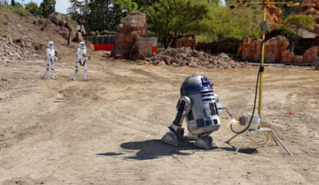 Disney Parks Releases 360-Degree Image of Star Wars Land Groundbreaking