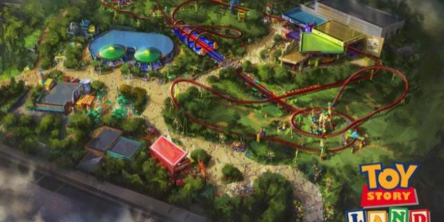 Toy Story Land Disney