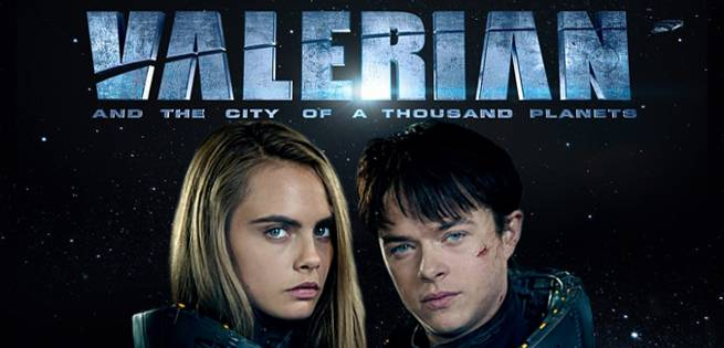 Valerian and the City of a Thousand Planets Heads to Comic-Con