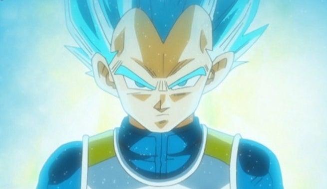 Vegeta - Dragon Ball Super - Super Saiyan Blue