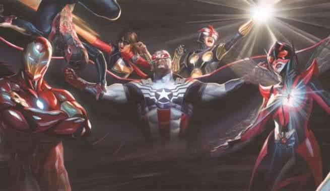 Avengers Alex Ross Poster