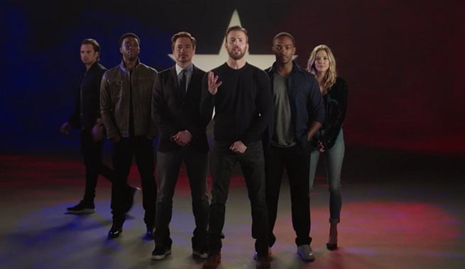 Captain America: Civil War Cast Get Inspirational In New Battle Hymn Promo
