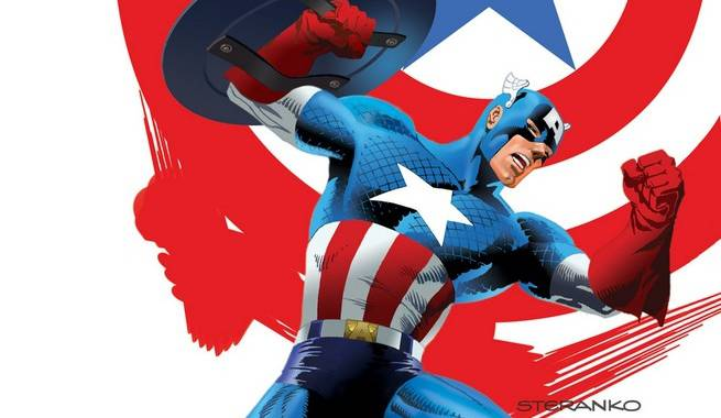 Captain America Jim Steranko Variants
