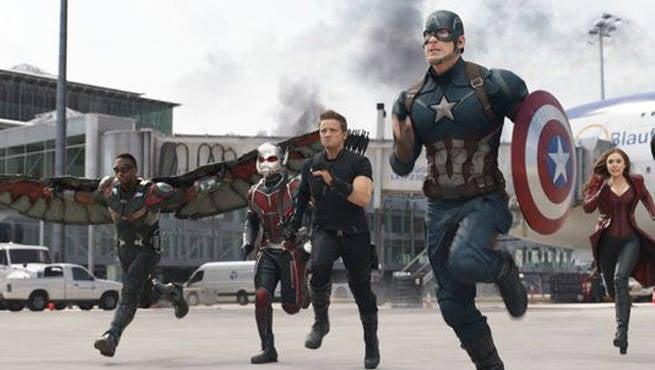 Captain America: Civil War First Official Look At Spoiler