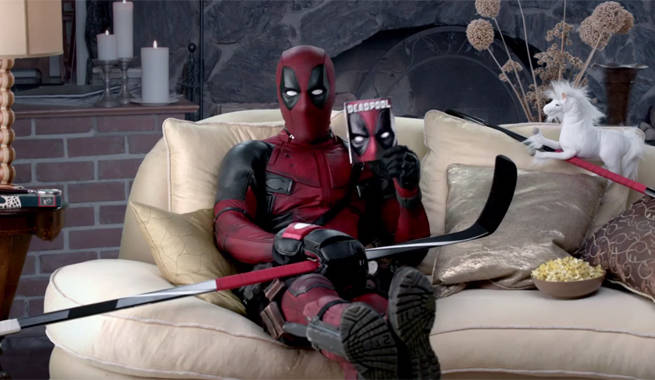 Two New Deadpool Blu Ray Promos Play With Nba And Nhl