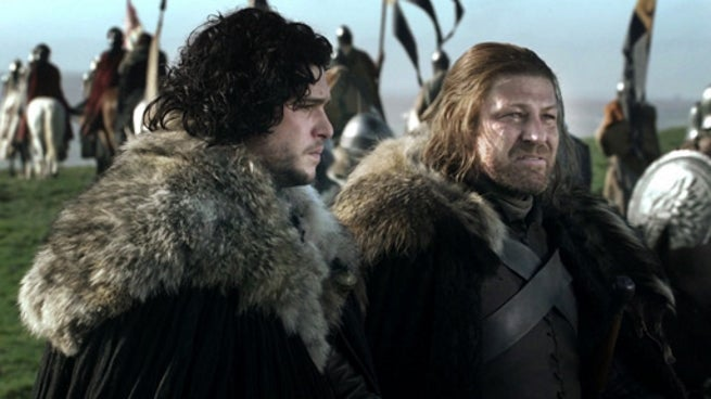 Game of Thrones - Jon Snow and Ned Stark