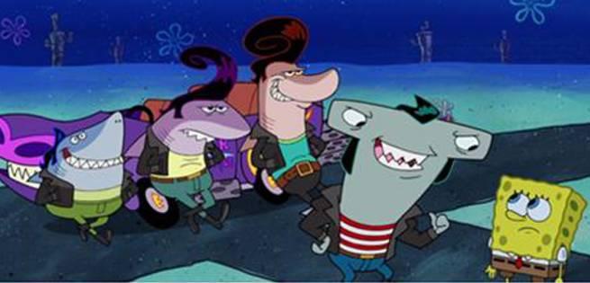 happydays-spongebob
