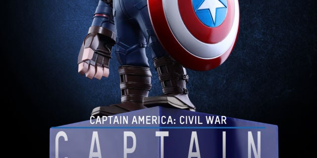 Hot Toys - CACW - Captain America Artist Mix Collectible BobbleHead_PR1