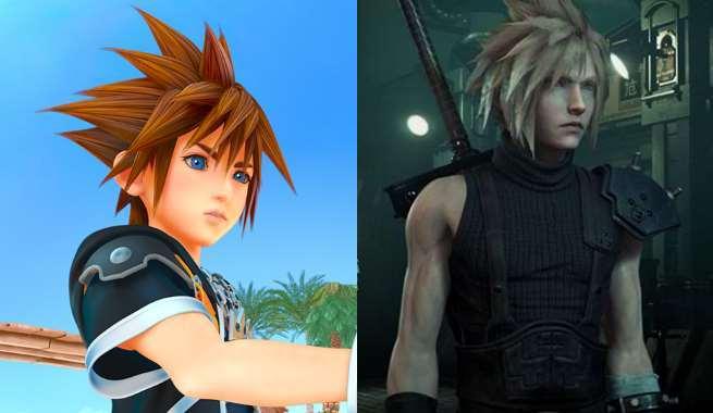 Kingdom Hearts 3 - Final Fantasy 7