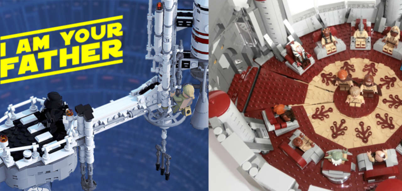 Star Wars: Empire Strikes Back LEGO Set Up for Ideas Build