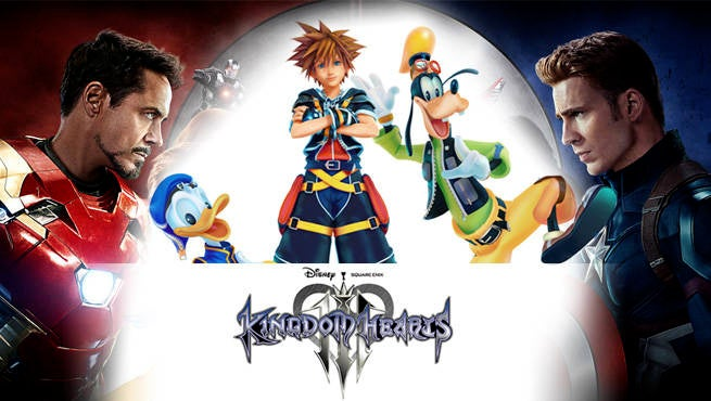 Marvel Kingdom Hearts 3