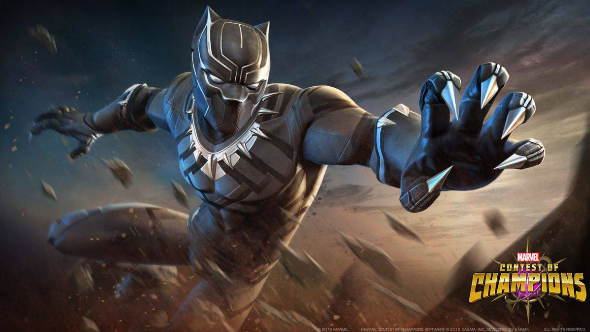 71f7c61c EXCLUSIVE: Civil War's Black Panther Comes to Marvel Games Lineup