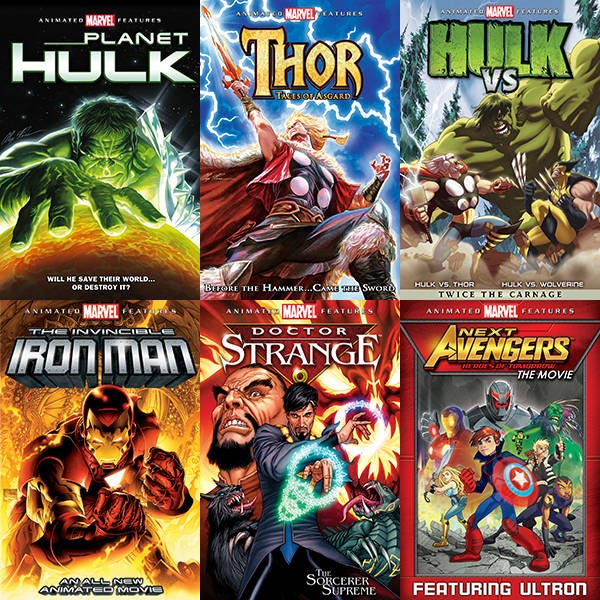 Enter to Win Six Animated Marvel Movies In the Not Very Civil Bundle From Lionsgate