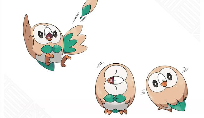 Internet Decisively Chooses Rowlet As Their Favorite Pokemon Sun