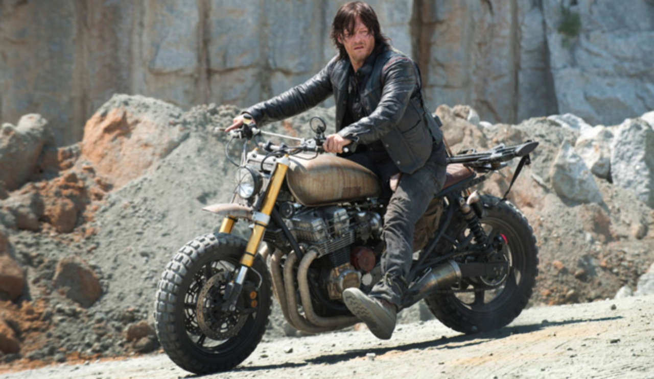 Daryl's bike, the real life Deathbike