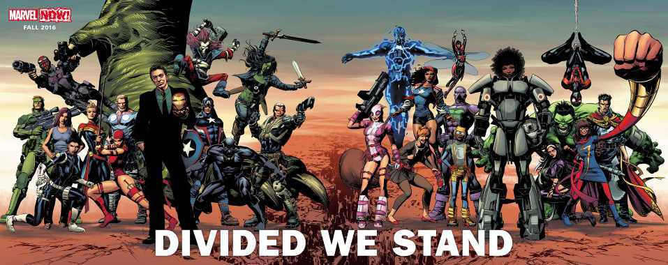 Marvel Divided We Stand