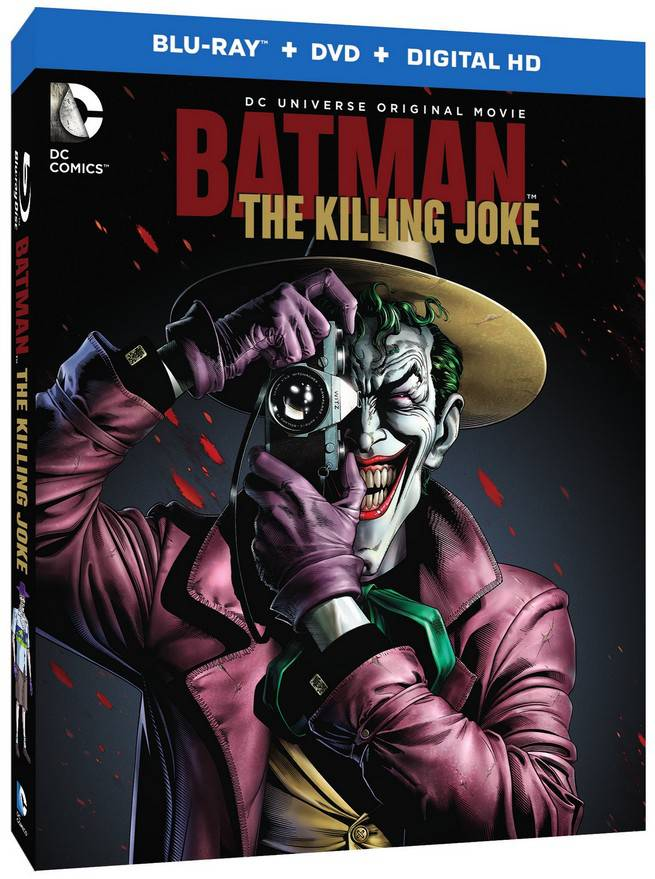 Batman the Killing Joke Boxart