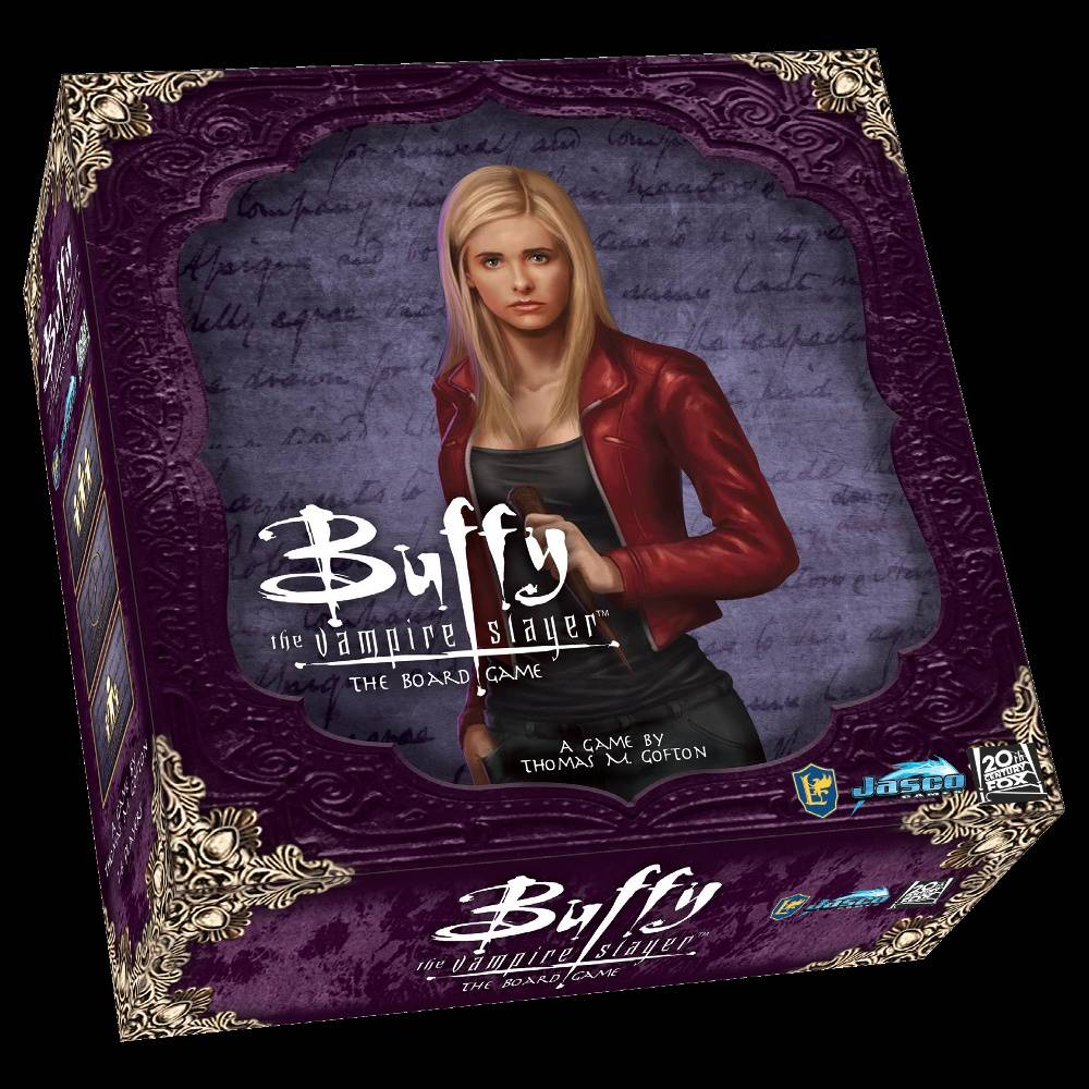 Buffy Vampire Slayer Board Game Box