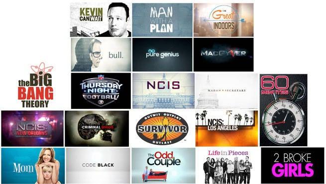 CBS Lineup