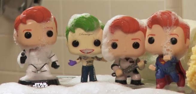 Conan Unveils His New Pop! Vinyl Figures