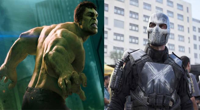 Crossbones v Hulk