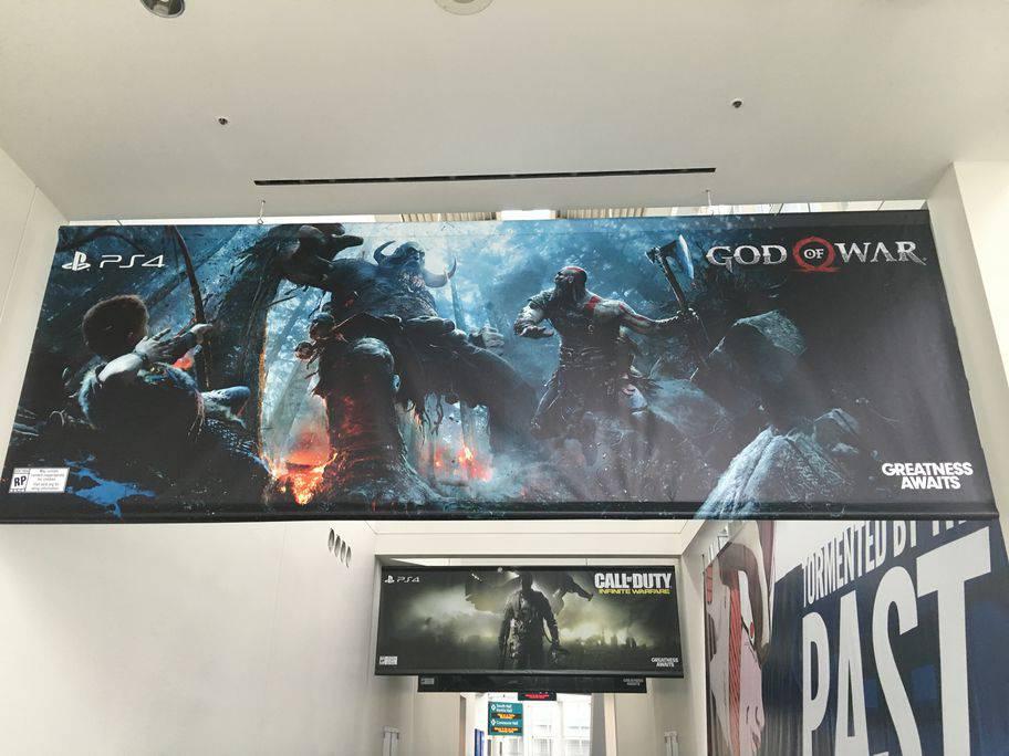 E3 2016 Convention Center Photo Tour: Game Banners