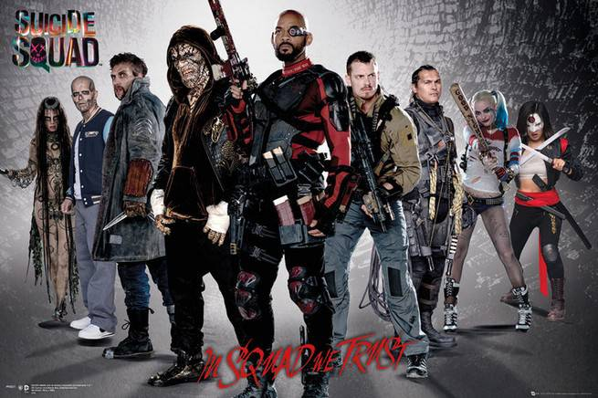 New Suicide Squad Posters Revealed