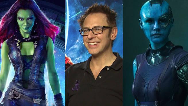 Guardians of the Galaxy 2 women