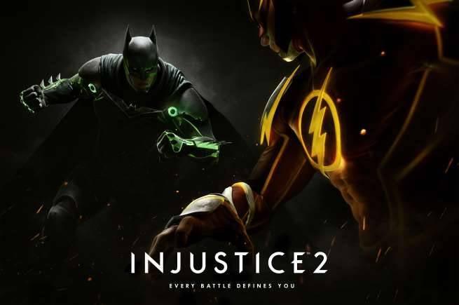 Injustice 2 Announce Art
