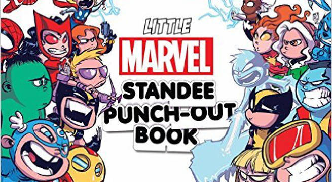 Little Marvel Standee PunchOut Book