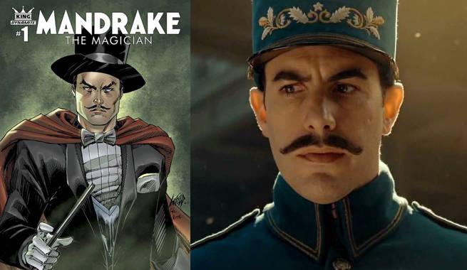 Sacha Baron Cohen to Star in Mandrake the Magician Film