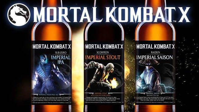 Mortal Kombat X Beer