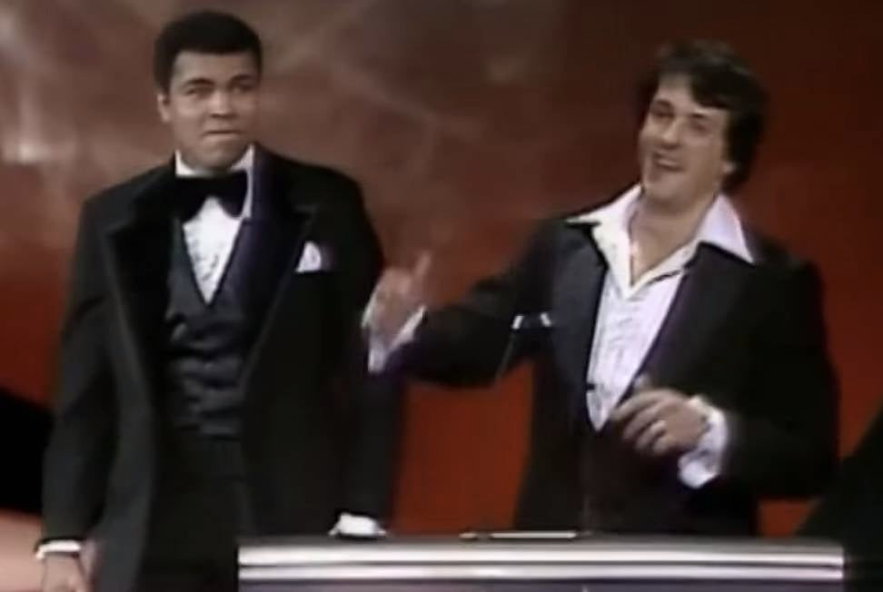 Muhammad Ali Sparring With Sylvester Stallone At 1977 Oscars Clip Resurfaces