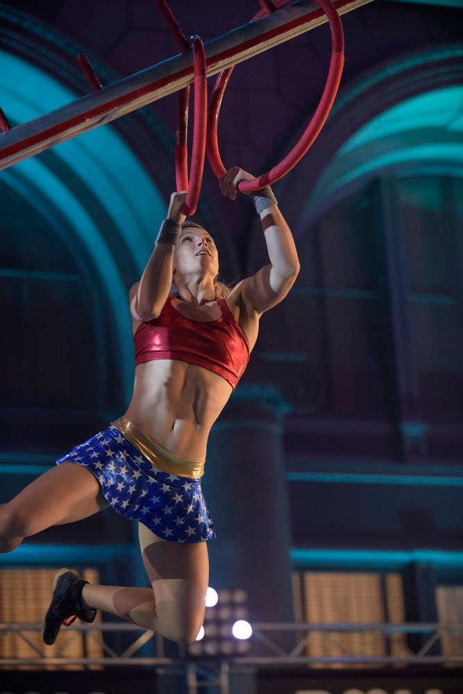 Stuntwoman Takes On American Ninja Warrior's Course In Wonder Woman Costume