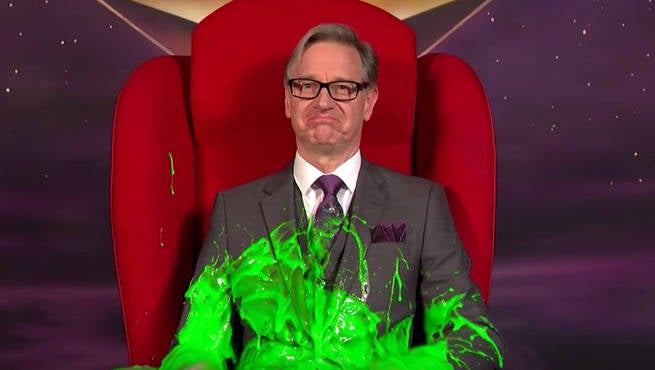 Ghostbusters Director Paul Feig Gets Slimed
