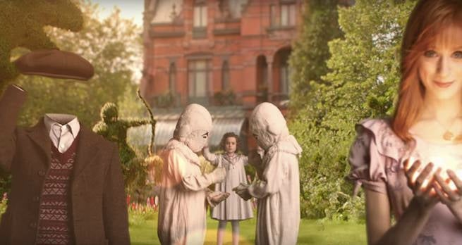 Miss Peregrine's Home for Peculiar Children Trailer Announcement Released