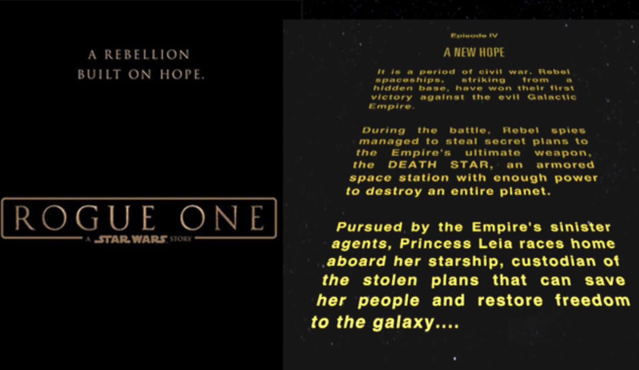 Lucasfilm President Confirms Why Rogue One A Star Wars Story Has No Opening Crawl