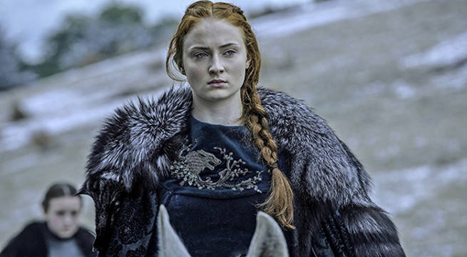 'Game of Thrones' Sophie Turner Thanks Sansa in Emotional Message Before Series Finale