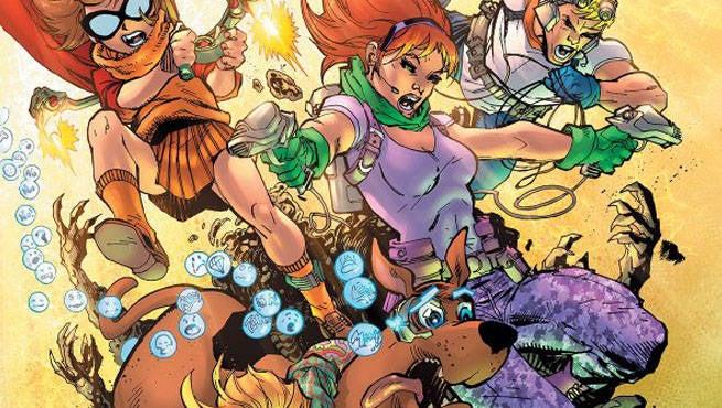 Scooby Apocalypse 2 Cover