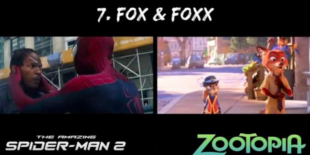 Is The Amazing Spider-Man 2 Zootopia The Same Movie?